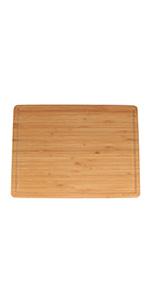 Thin bamboo cutting board