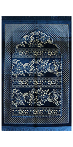 Modefa Double Plush Wide Islamic Prayer Rug Turkish carpet mat janamaz sajjadah