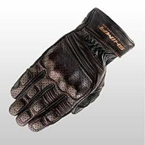 aviator dark brown; bronze; touring gloves; street; urban;