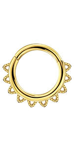 gold seprum ring