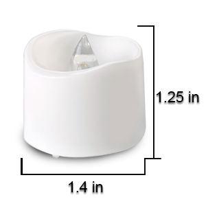 white tealight