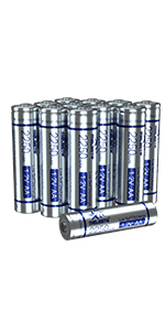 16 PACK aaa battery