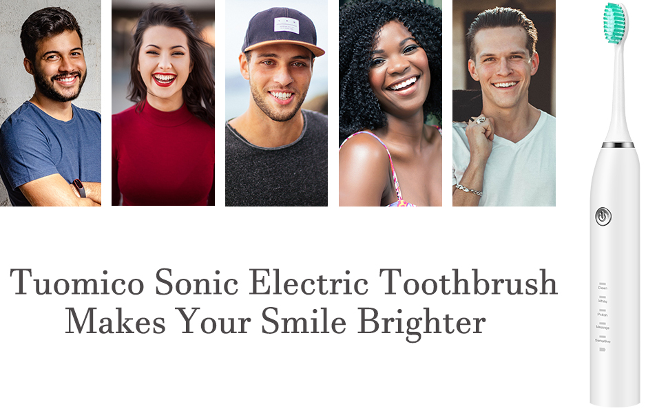 Tuomico Sonic electric toothbrush