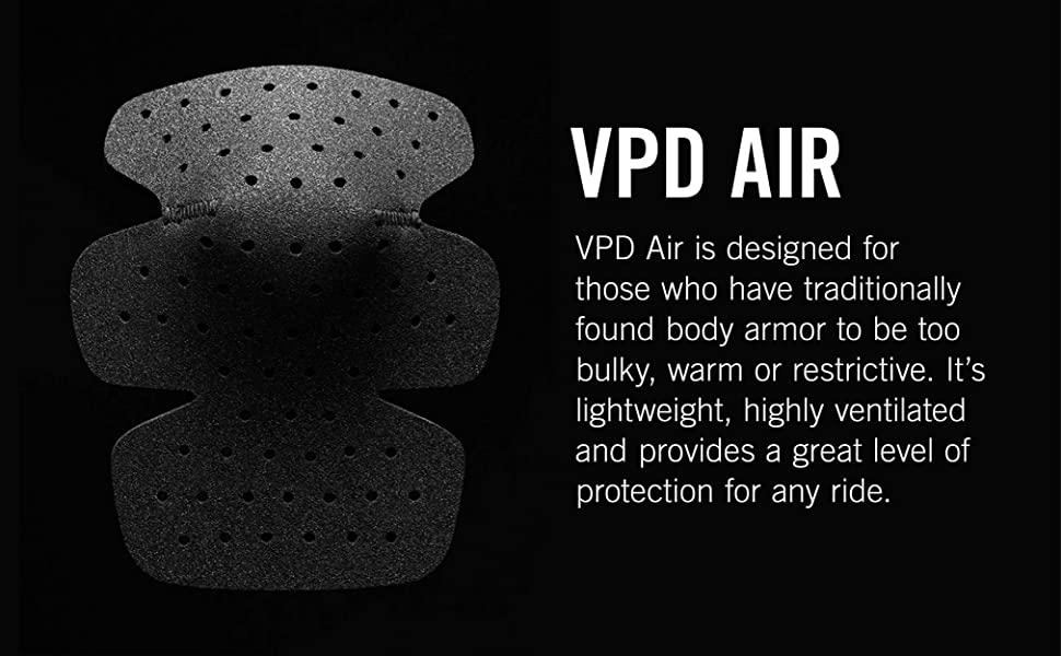 VPD Air is designed for those who have traditionally found body armor to be too bulky.