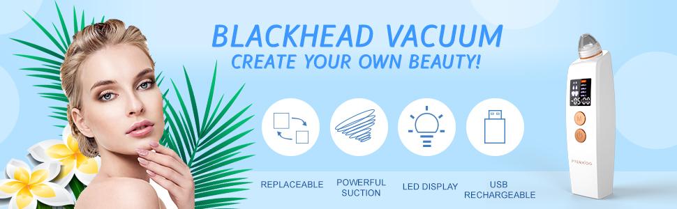 white blackhead vacuum