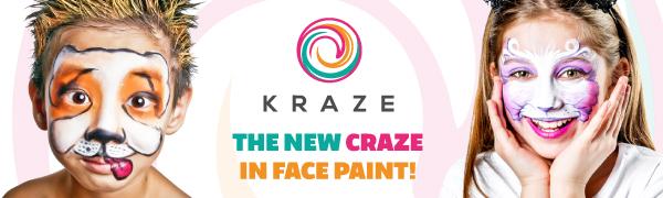 Kraze FX face paint single colors
