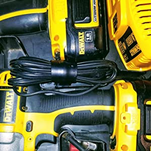 Control all the cordless chargers we have for hobbies, work, communication, phone and power tools.