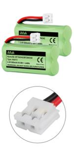 iMah Ryme B2 BT184342/BT284342 2.4V 600mAh Battery Pack