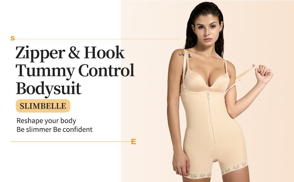 tummy control bodysuit shapewear