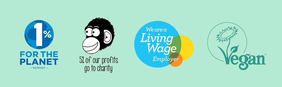 PureChimp charity vegan ethics banner