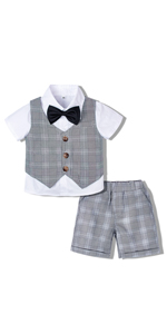 Toddler Gentleman Short Set