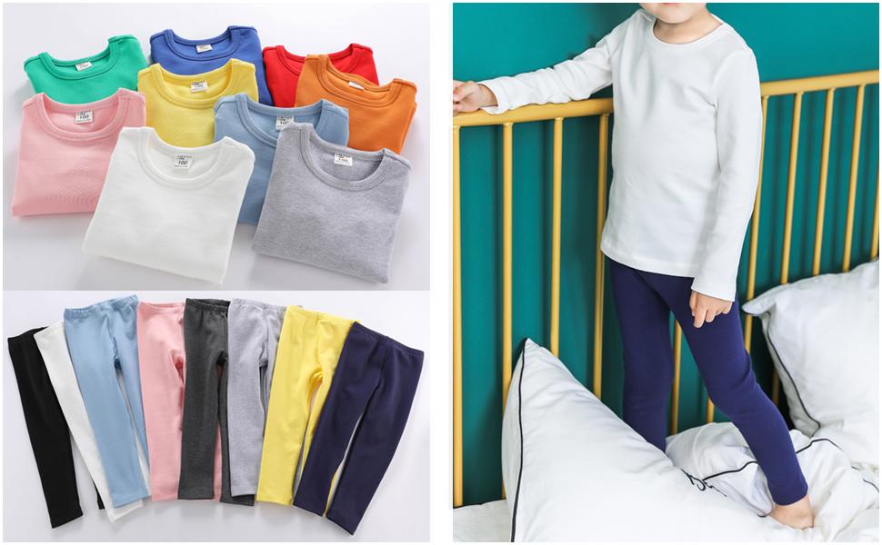 alalimini colorful kids pajama set