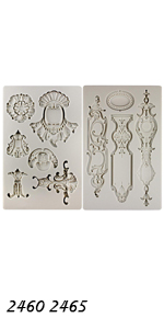 Vintage Ornaments Molds 2-count