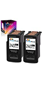 canon ink cartridge 240 and 241