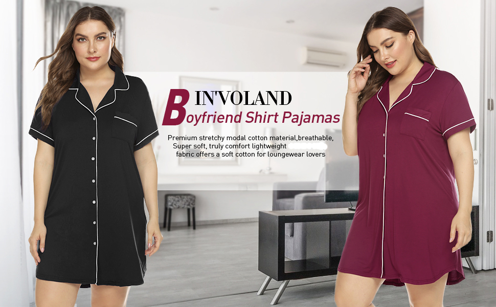 Plus size nighshirt