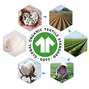 Ultra soft muslin cotton organic washcloths