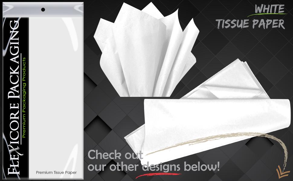 white bright soft blush gift wrap paper tissue sheets art diy craft tassel garland pom pom