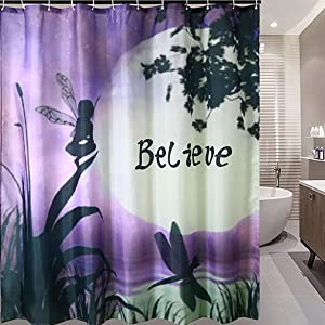 waterproof bathroom curtain