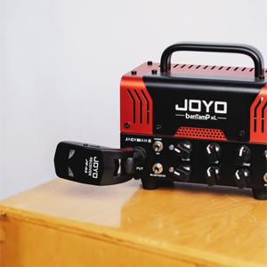 JOYO 2.4GHz Wireless Guitar System 4 Channels Digital Rechargeable Guitar Transmitter Receiver