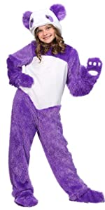 purple panda, panda, animal, bear, zoo, costume