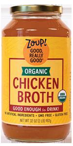 organic chicken broth soup