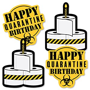 Happy Quarantine Birthday Party Essentials