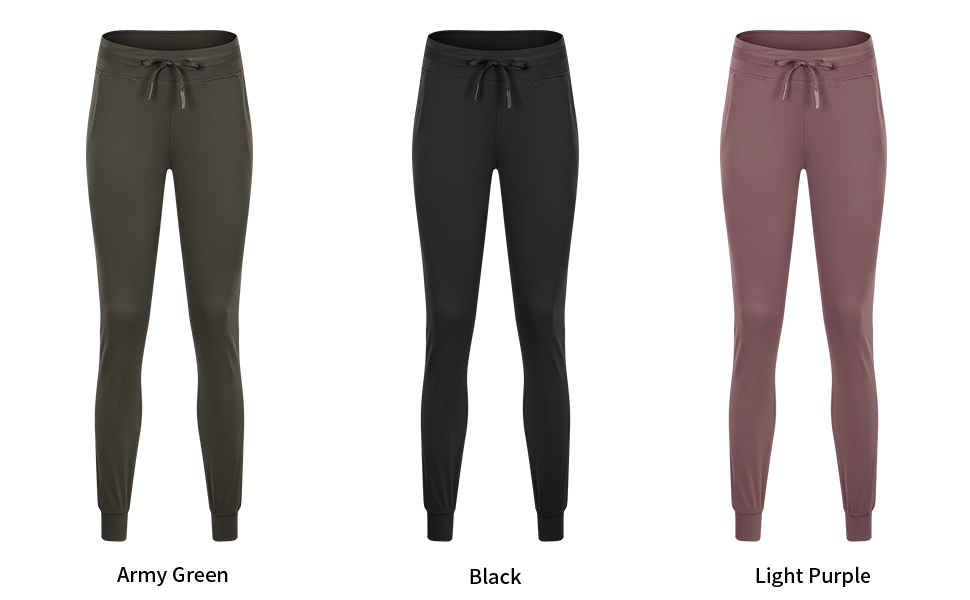 joggers lounge pants pockets Length tapered sweatpants buttery soft yoga lightweight athletic fitted
