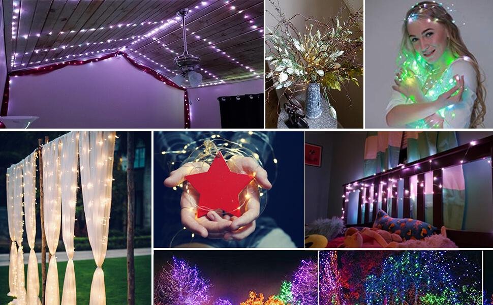 fairy string lights remote