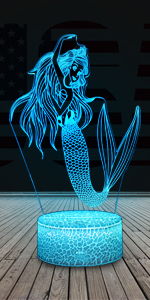 Dance-Mermaid night light