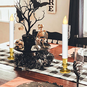 Halloween Flameless Window Candles