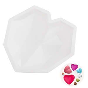 breakable heart mold