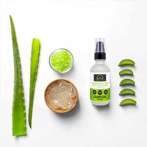 All Natural Hyaluronic Acid Serum Ingredients for My Organic Zone