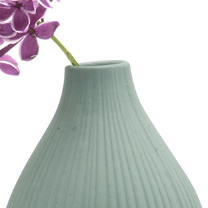 Chive Frost Clay Flower Vase