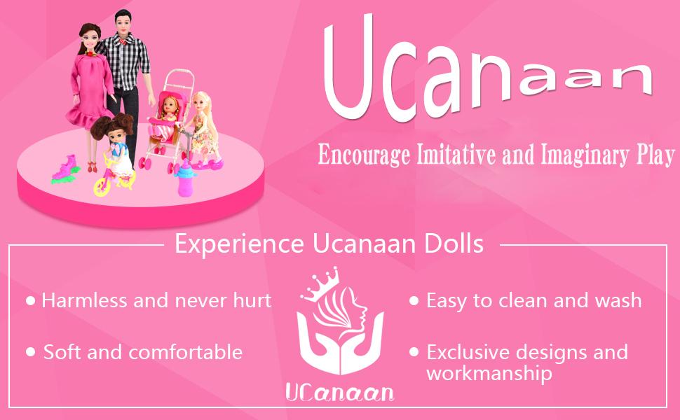UCanaan family doll
