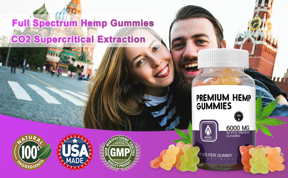 all natural organic premium gummies made in usa full benefits fast results acting long lasting