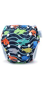 reusable swim diaper boy