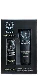 beard shampoo and conditioner set