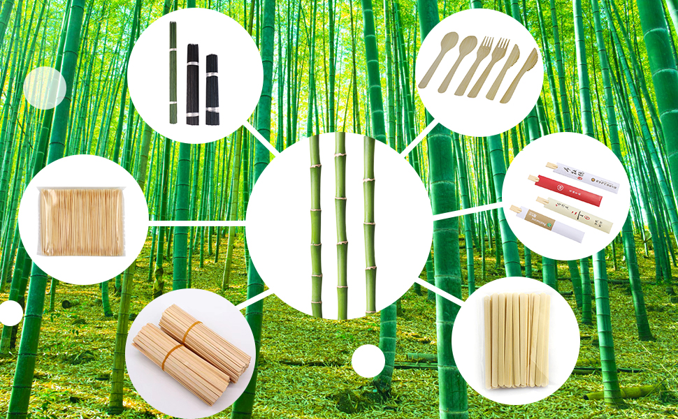 Carry other eco bamboo items