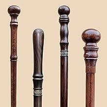 knob canes walking sticks carved