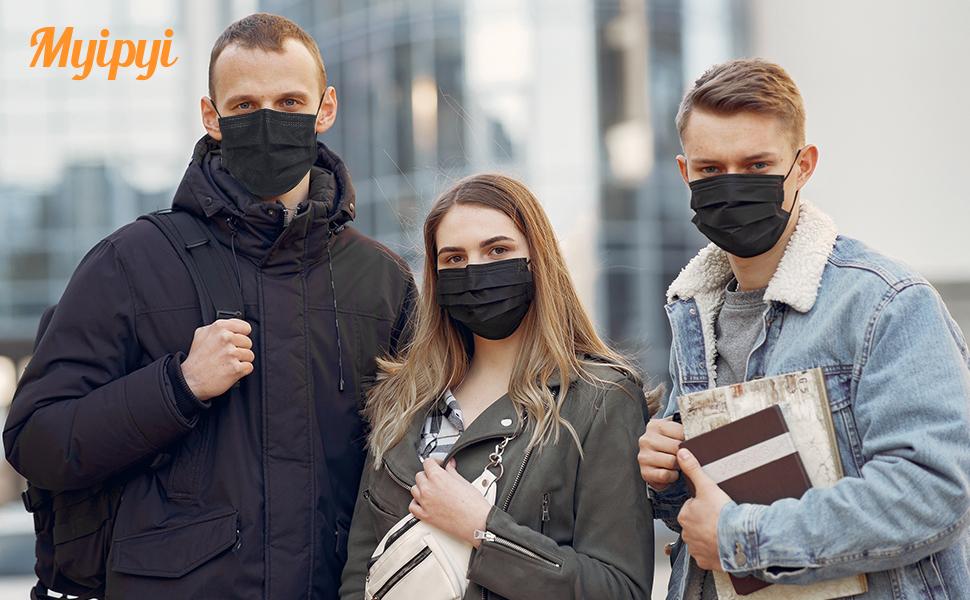 4-layer face masks