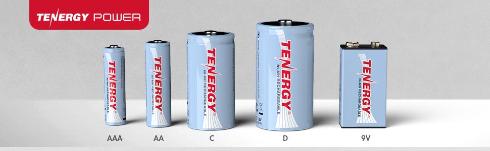 tenergy standard rechargeable nimh battery