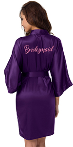 Customized Embroidered Robe
