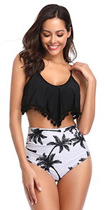 pom pom bikini for women
