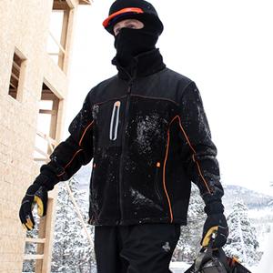 RefrigiWear 9740R PolarForce Hybrid Fleece Insulated Jacket