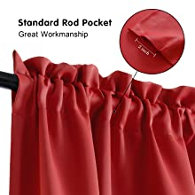 rod pocket
