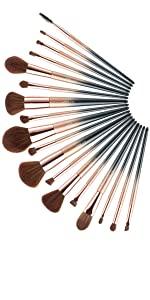pro makeup brushes