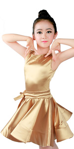 Girls Latin Dress