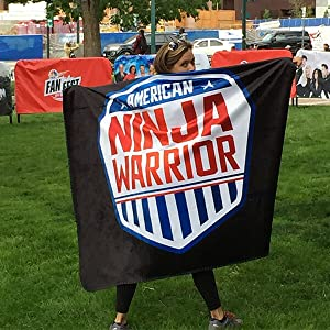american ninja warrior gifts anw blankets bags what to buy for fans