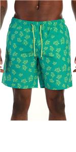 Men's Recycled Fabric Quick Dry Swim Trunks