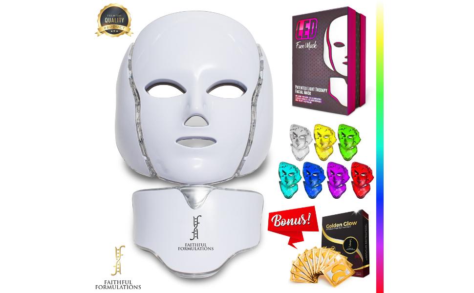 Faithful Formulations Light Therapy Mask Skin